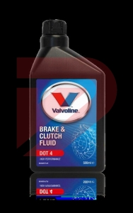 BRAKE & CLUTCH FLUID DOT 4 500ML
